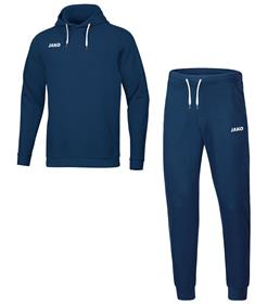 JAKO Joggingpak Base Sweater met Kap m9465-09