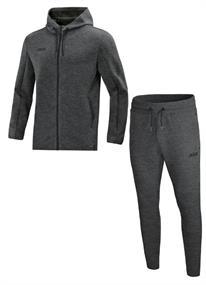 JAKO Joggingpak met Jas met kap Premium Basics m9729-21